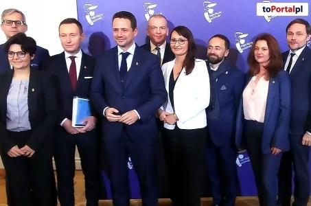 Prezydent Warszawy przedstawił swoją drużynę.