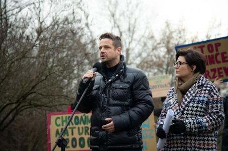 Warszawa. Inwestycja przeciwpowodziowa na Wybrzeżu Helskim.